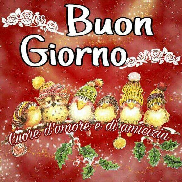 Buon Giorno foto natalizie belle